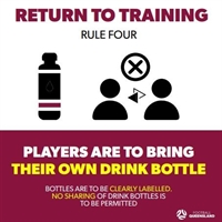 FQ Covid Rules - Bring your own water bottle