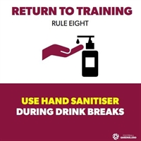 FQ Covid Rules - Use Sanitiser