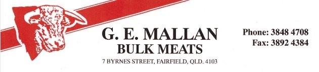 GE  Mallan  Meats  Logo